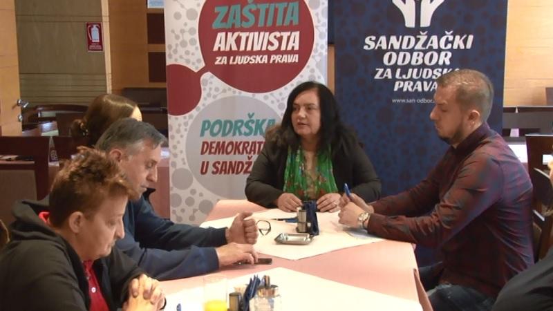 Podrška aktivistima za ljudska prava i demokratizaciju
