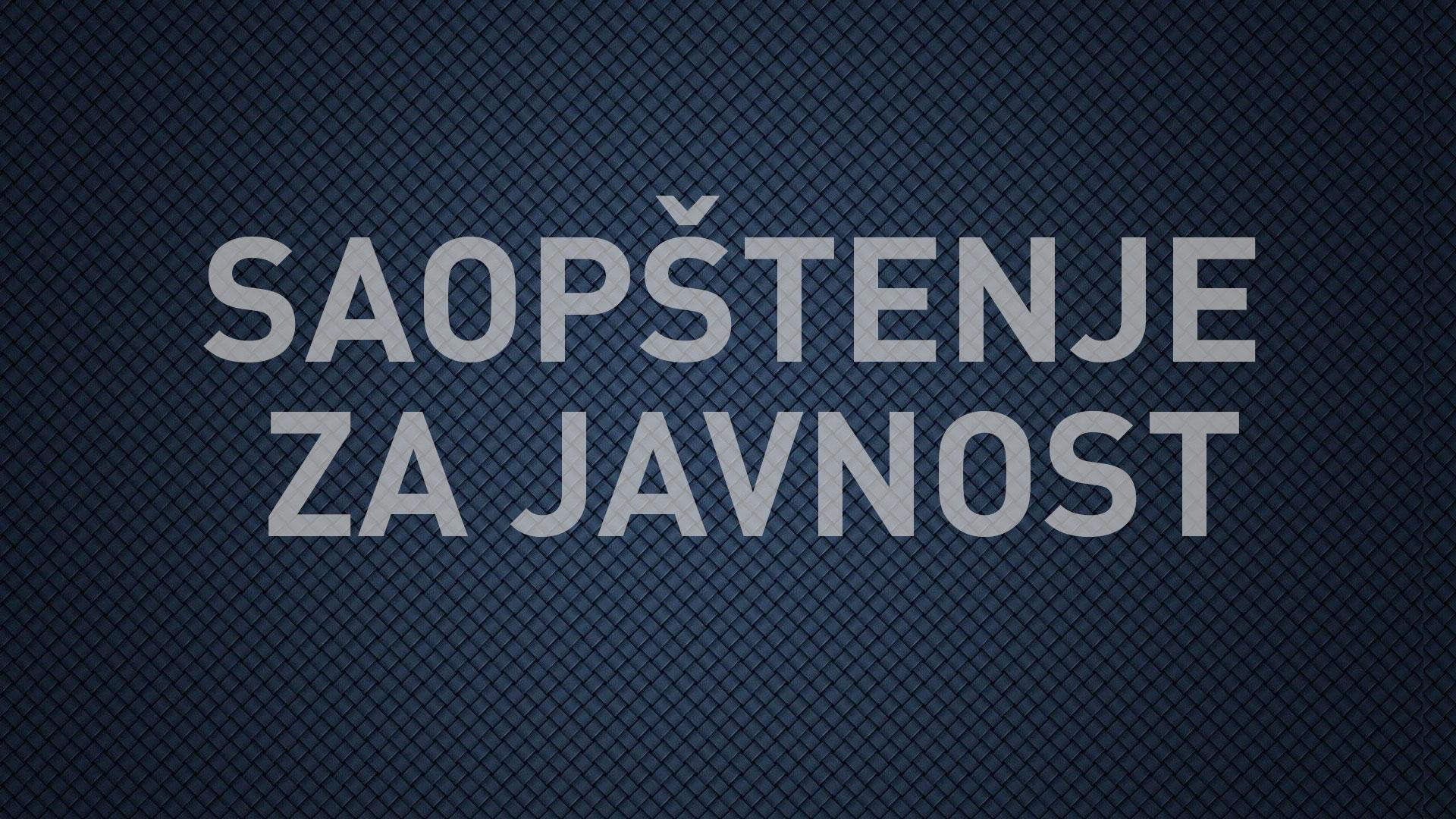 """Zajedničko saopštenje organizacija civilnog društva:  Utvrditi odgovornost za dopremanje publikacije  """"Srebrenica – službena laž jedne epohe"""" u kovid bolnicu u """"Štark areni"""""""